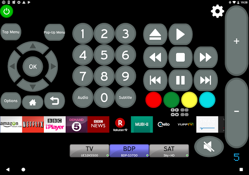 Remote for Onkyo AV Receivers & Smart TV/Blu-Ray screenshot 8