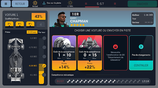 Motorsport Manager Mobile 3 Capture d'écran