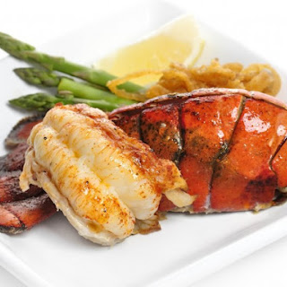 Red Lobster's Grilled Rock Lobster.