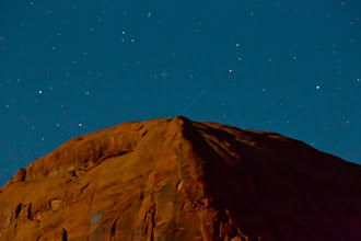 Photo: A long exposure shot across the Colorado River from the Gold Bar Campground.