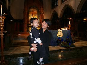 Photo: Ronnie Corpuz & Nico December 4 at 8:30 am Mass