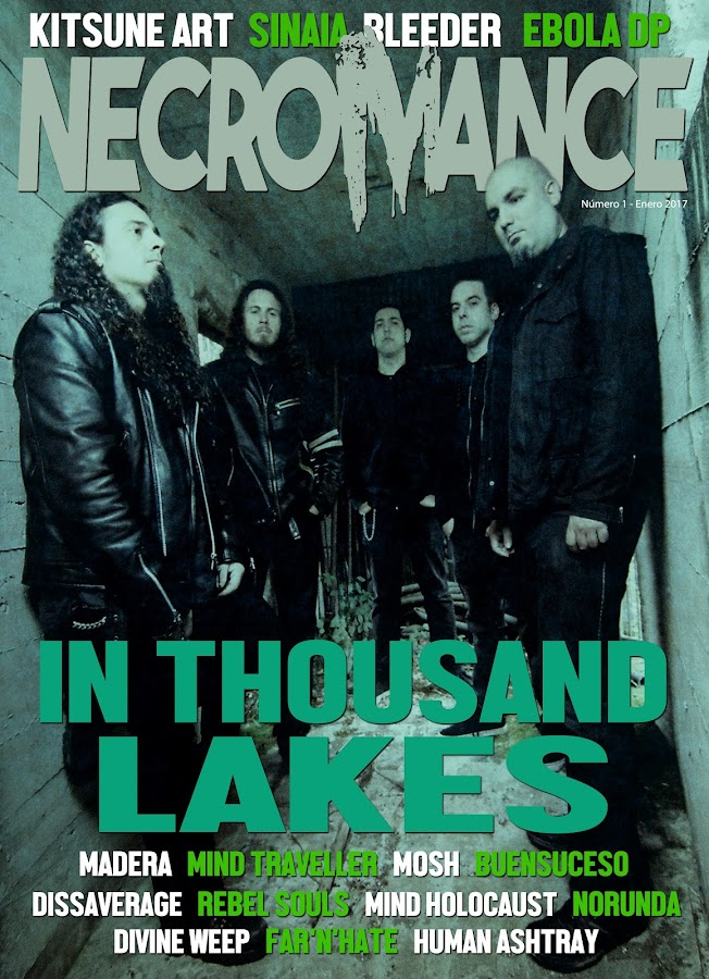 NecroMance Digital Magazine- screenshot