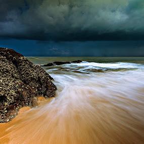 Chasing waves by Jali Razali - Landscapes Beaches (  )