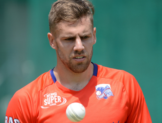 Warriors fast bowler Anrich Nortje hopes to broaden his cricket horizons when he joins up with the Kolkata Knight Riders for the 2019 Indian Premier League