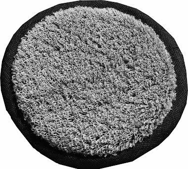 Skrubb rund Vile svart/granit