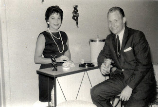 Photo: Sylvia Alma Granada Tillery (1st wife) and Patrick Alonzo Tillery 1958