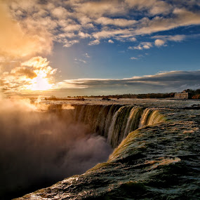 Abyss... by Roman Mordashev - Travel Locations Landmarks ( roman mordashev photography, #niagara falls #sunrise #landscape #travel #roman mordashev )