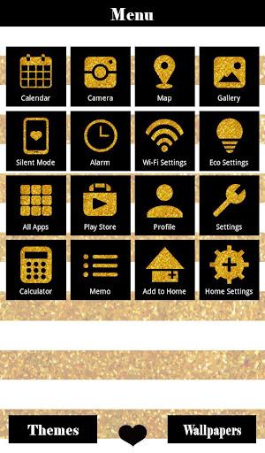 Gold Glitter Pattern Wallpaper 1.0.0 Windows u7528 2