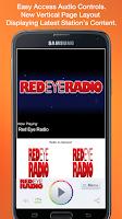 Screenshot of Red Eye Radio