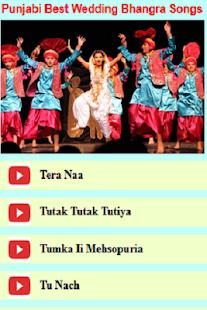 Punjabi Best Wedding Bhangra Songs - náhled