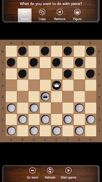 Russian checkers apk screenshot