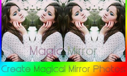 Magic Mirror Photo Effect Cool screenshot