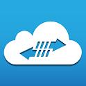 Cloud Harddrive icon