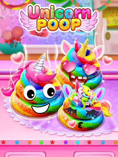 Unicorn Poop - Sweet Trendy Desserts Food Maker 1.5 screenshots 8