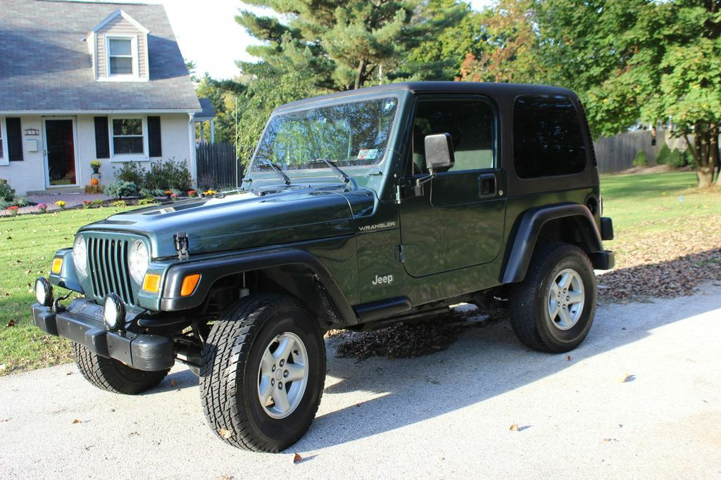 1999 jeep wrangler sport sport utility 2 door ebay. Black Bedroom Furniture Sets. Home Design Ideas