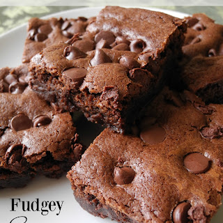 Fudgey Saucepan Brownies