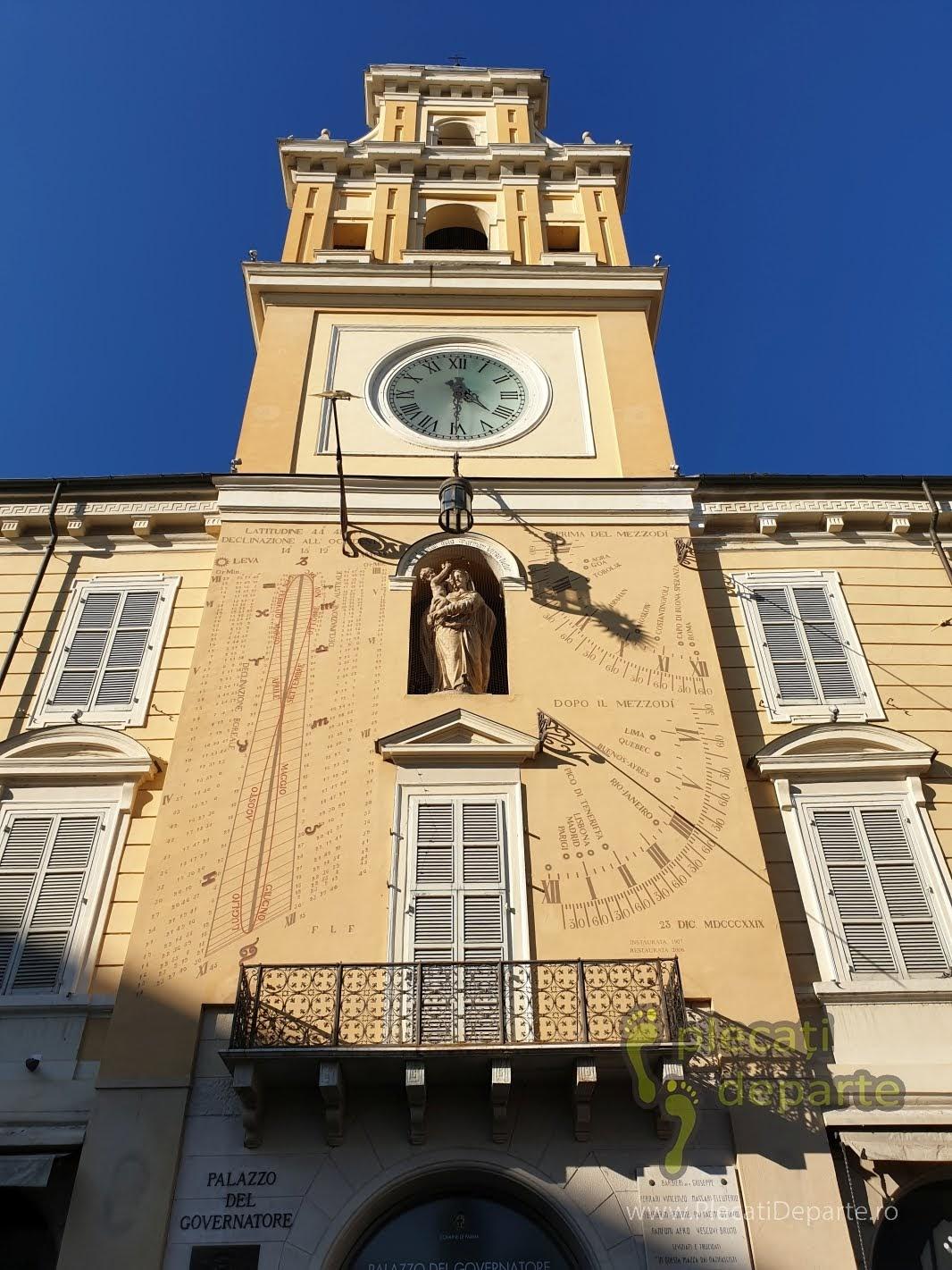 Piazza Giuseppe Garibaldi, in Parma, Italia. bologna parma lugo obiective turistice italia