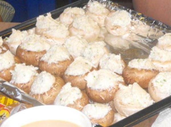 Crab~stuffed Mushrooms Recipe