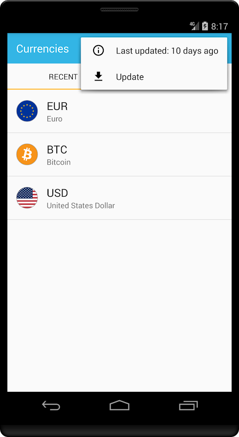Spree Currency- screenshot