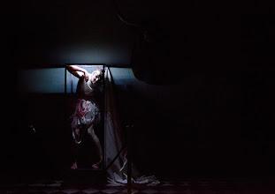 Photo: Wien/Burgtheater/ Vestibül: DIE HAMLET-MASCHINE von Heiner Müller. Premiere am 16.10.2015. Inszenierung: Christina Tscharyiski, Marie-Luise Stockinger. Copyright: Barbara Zeininger