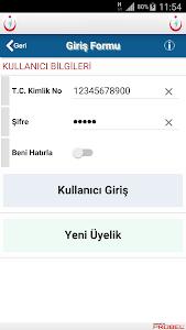 İzmir Göğüs H. Hastanesi Mobil screenshot 1
