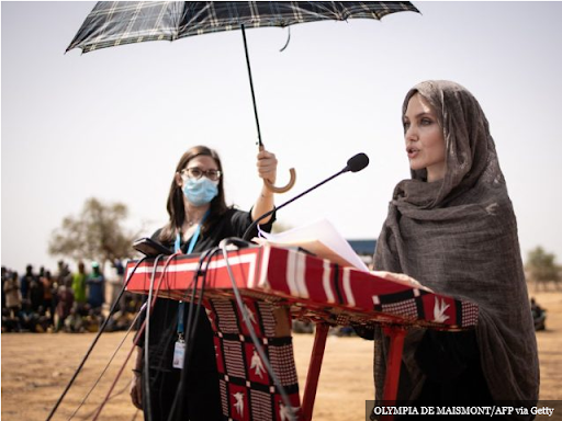 Angelina Jolie: Climate Change will Force Hundreds of Millions into Refugee Status