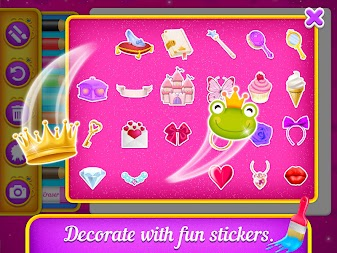 Princess Coloring Book Drawing For Kids APK Screenshot Thumbnail 11