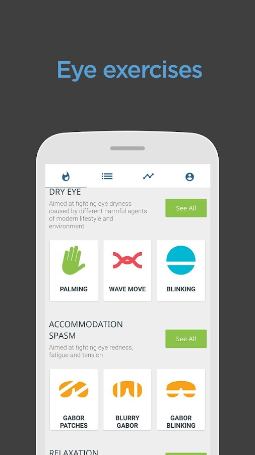 Eye Exercises - Eye Care Plus- screenshot