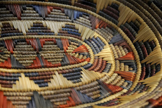 Photo: Example of native basket, UA Museum of the North