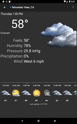 Palmary Weather screenshot 17