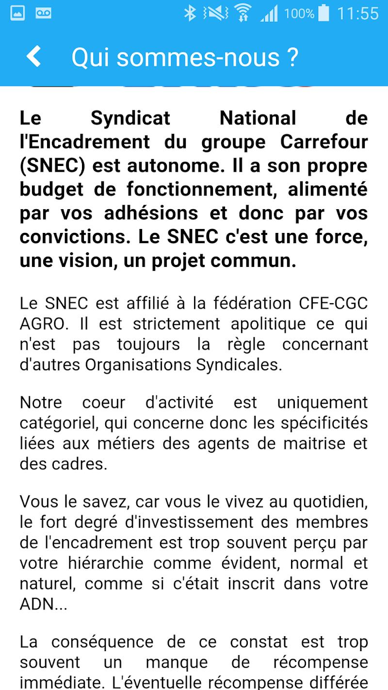 Скриншот SNEC CFE CGC