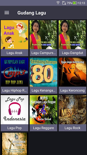 Gudang Lagu Mp3 Gratis 1.0.1 screenshots 2