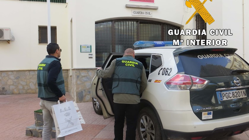 La Guardia Civil inició la investigación en diciembre de 2018.