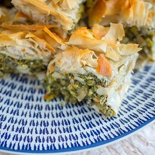 Easy Spanakopita (spinach Pie).