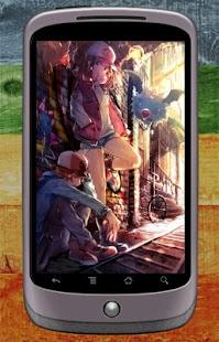 Poke Touko Wallpaper - náhled