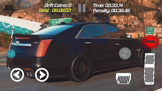 Drift Racing Cadillac Cts V Simulator Game Apps On Google Play