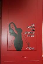Photo: Street art -Miss Tic- Paris XIe - rue Trousseau