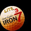 IRON 7 THREE Golf Game Lite icon