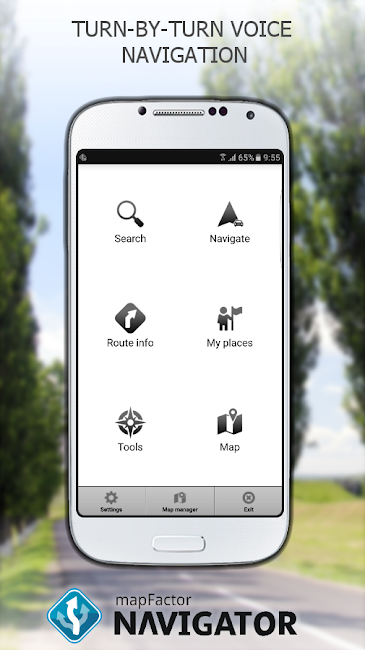 #2. MapFactor GPS Navigation Maps (Android)