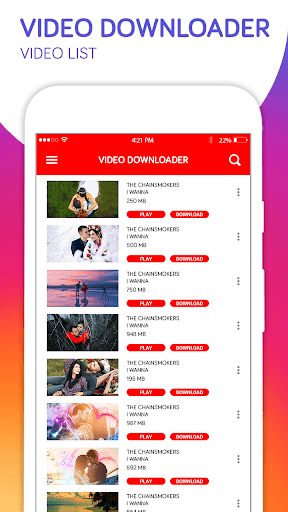 All Video downloader-Hd video downloader 1.7 screenshots 1