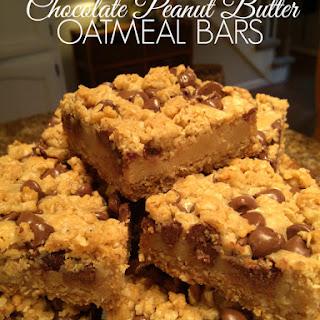 Chocolate Peanut Butter Oatmeal Bars Recipes.