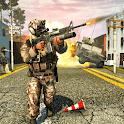 FPS Fauji Free Shooting Game 2020 icon