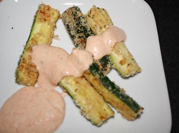Breaded Zucchini Sticks Recipe
