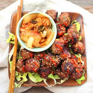 Grilled Korean Meatballs