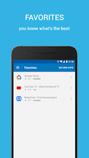 Cast Store de ChromeCast Apps Capture d'écran