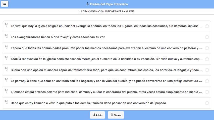 android Frases del Papa Francisco Screenshot 16
