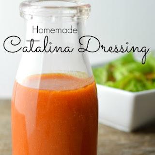 Homemade Catalina Salad Dressing.