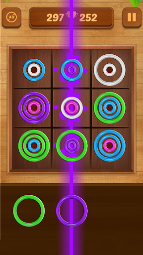 Color Rings - Colorful Puzzle Game 2.8 screenshots 4