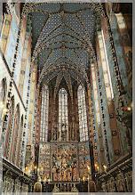 Photo: Interior de Santa Maria .Cracovia (Polonia)  http://www.viajesenfamilia.it/CRACOVIA.htmeditar