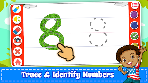 Learn Numbers 123 Kids Free Game - Count & Tracing 2.9 screenshots 10